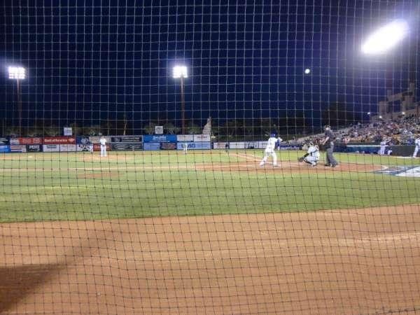 Cashman Field, secção: Dug-A, fila: 3, lugar: 9