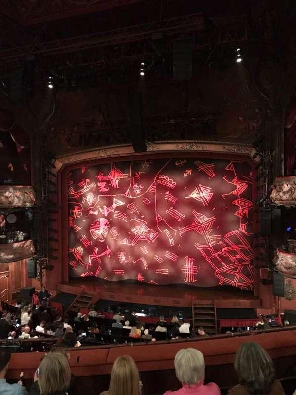 Lyceum Theatre (West End), secção: Royal Circle, fila: E, lugar: 14
