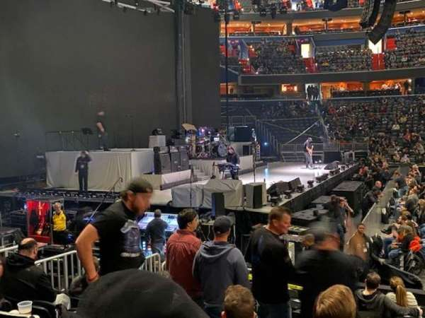 Capital One Arena, secção: 120, fila: K, lugar: 15
