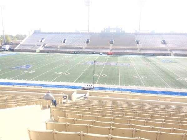 H. A. Chapman Stadium, secção: 118, fila: 23, lugar: 23