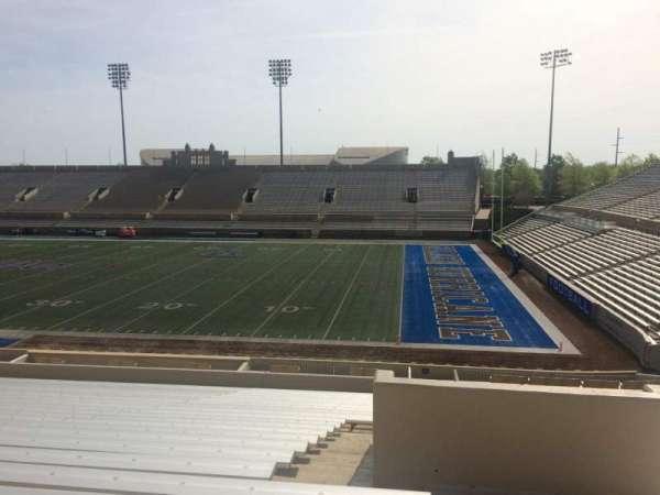 H. A. Chapman Stadium, secção: 115, fila: 37, lugar: 1