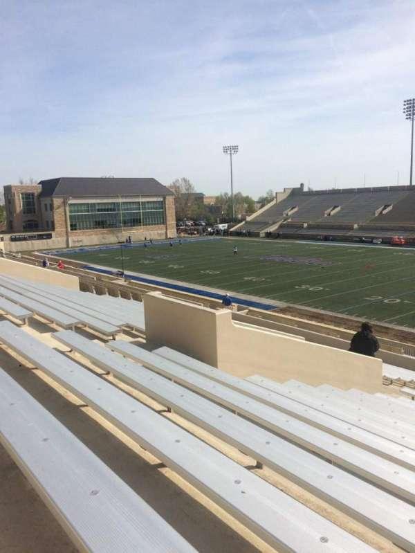 H. A. Chapman Stadium, secção: 114, fila: 37, lugar: 14