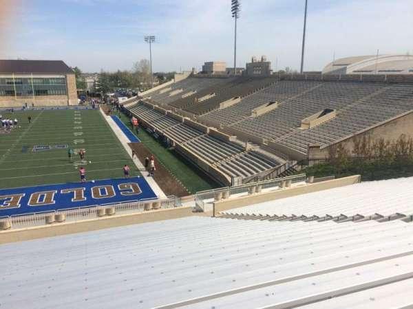 H. A. Chapman Stadium, secção: 110, fila: 46, lugar: 13