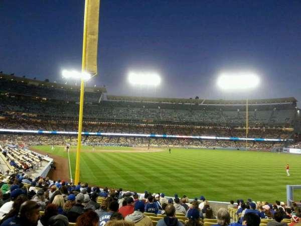 Dodger Stadium, secção: 50FD, fila: T, lugar: 21