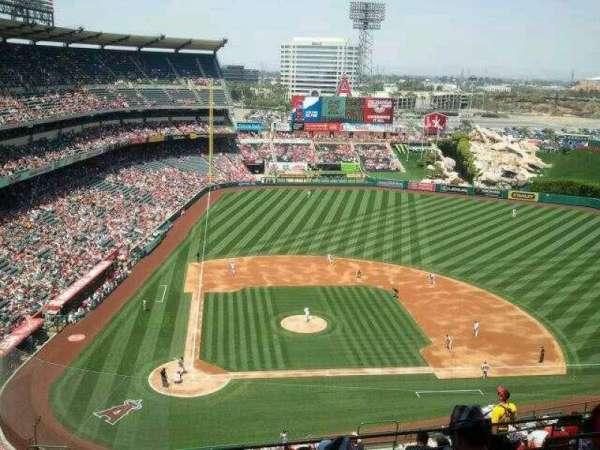 Angel Stadium, secção: 526