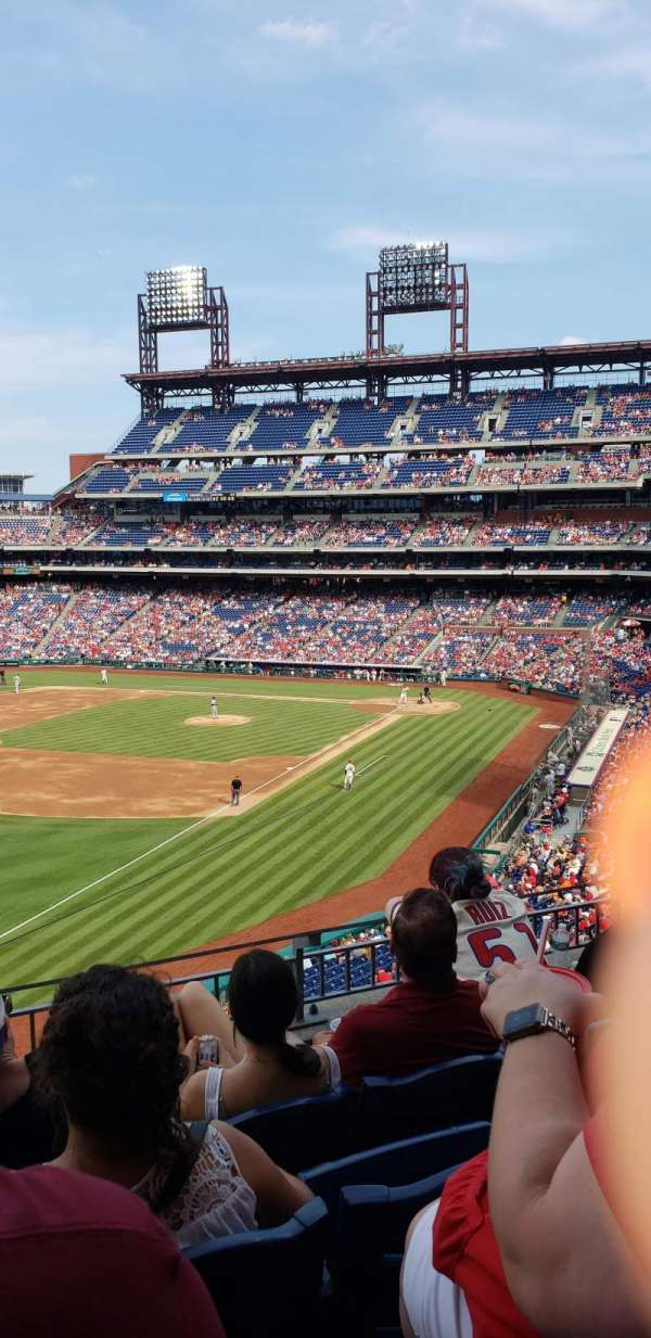 Citizens Bank Park, secção: 235, fila: 4, lugar: 19