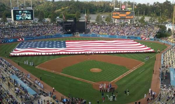 Dodger Stadium, secção: 3TD