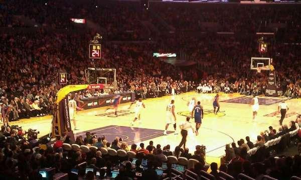 Staples Center, secção: 114