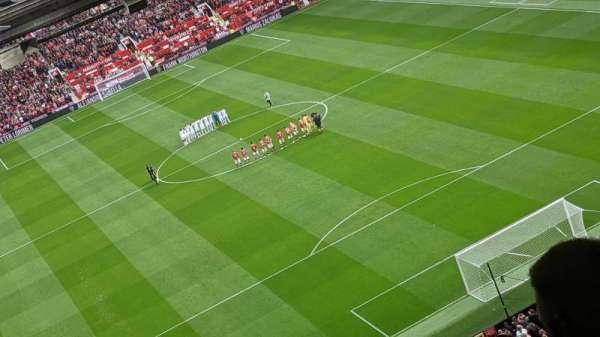 Old Trafford, secção: W3102, fila: 31, lugar: 146