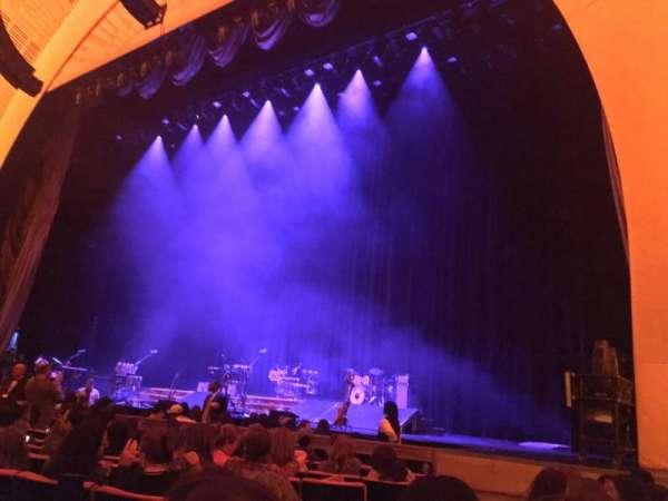 Radio City Music Hall, secção: Orchestra 2, fila: JJ, lugar: 211