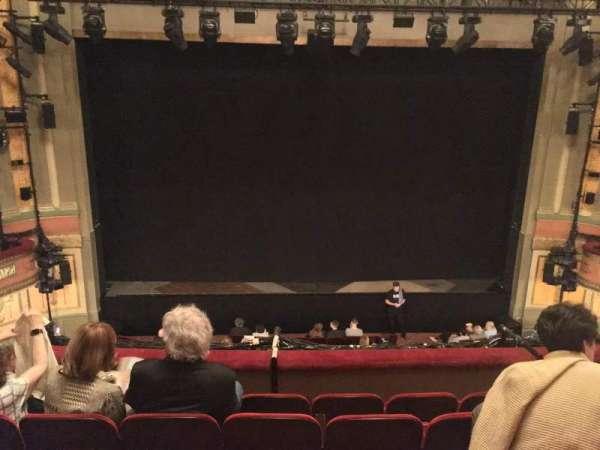Neil Simon Theatre, secção: Front Mezzanine C, fila: E, lugar: 111