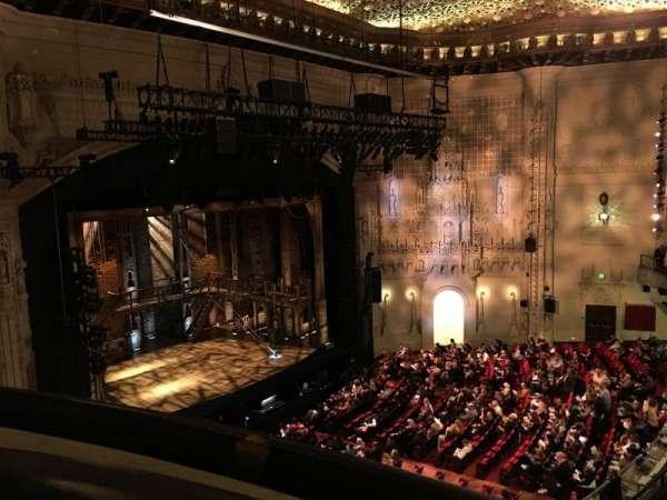 Orpheum Theatre (San Francisco), secção: Balcony L, fila: AA, lugar: 1