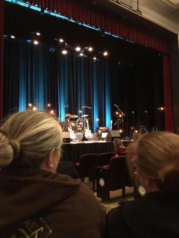 Marines' Memorial Theatre, secção: Orchestra, fila: F, lugar: 5