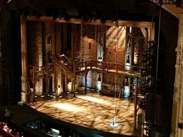 Orpheum Theatre (San Francisco), secção: Balcony R, fila: AA, lugar: 4