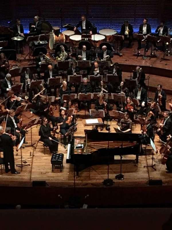 Davies Symphony Hall, secção: 2nd Tier EE, fila: B, lugar: 107