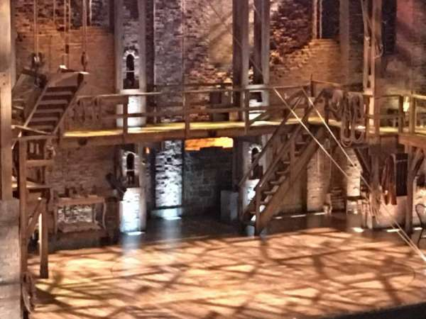 Orpheum Theatre (San Francisco), secção: Mezzanine L, fila: L, lugar: 27