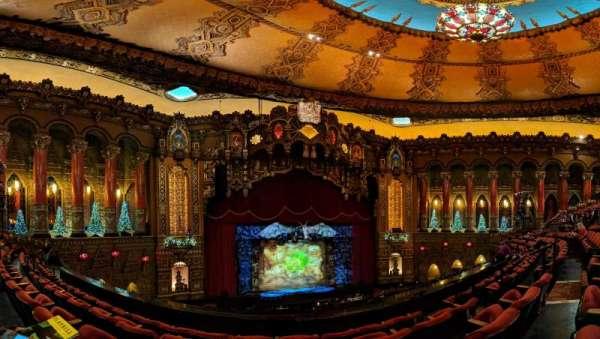 The Fabulous Fox Theatre (St. Louis), secção: Mezzanine 3, fila: DD, lugar: 9