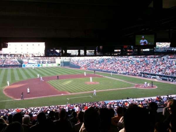 Oriole Park at Camden Yards, secção: 55, fila: 13, lugar: 7