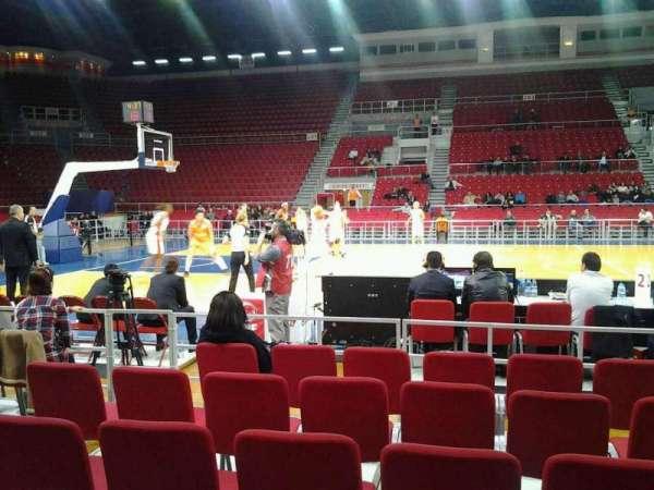 Abdi İpekçi Arena, secção: 113, fila: 1, lugar: 18