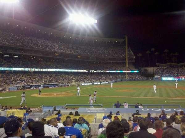 Dodger Stadium, secção: 18FD, fila: O, lugar: 1