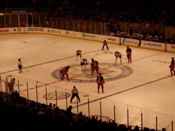 Madison Square Garden, secção: 303, fila: H, lugar: 2