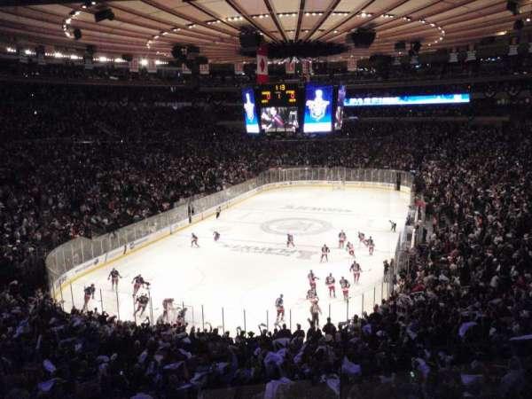 Madison Square Garden, secção: 344, fila: 2, lugar: 10