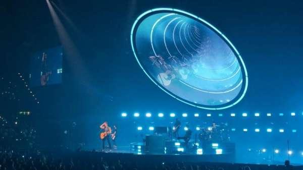 Arena Birmingham, secção: 2 Lower, fila: H, lugar: 59