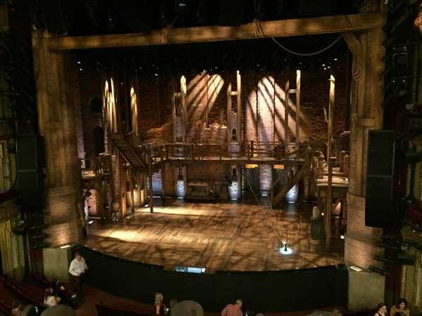 CIBC Theatre, secção: Mezzanine RC, fila: A, lugar: 314