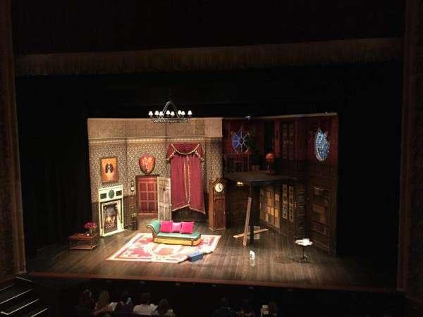 Lyceum Theatre (Broadway), secção: Mezzanine C, fila: A, lugar: 103