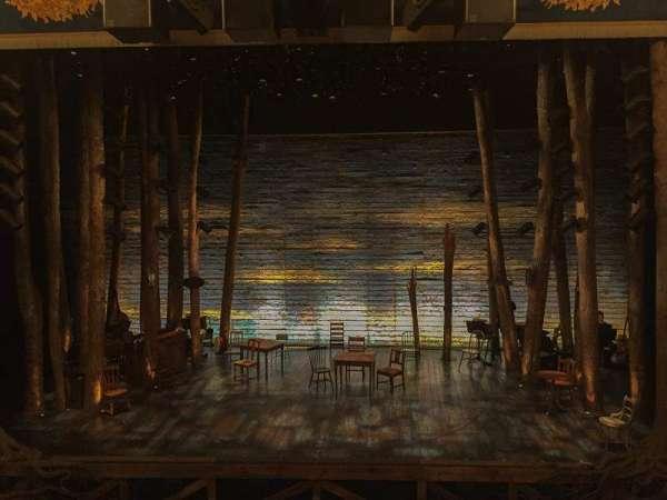 Gerald Schoenfeld Theatre, secção: Mezzanine C, fila: A, lugar: 109
