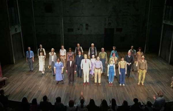 Shubert Theatre, secção: Mezzanine C, fila: A, lugar: 107