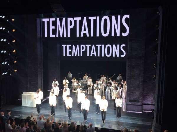 Imperial Theatre, secção: Front Mezzanine 2, fila: A, lugar: 7