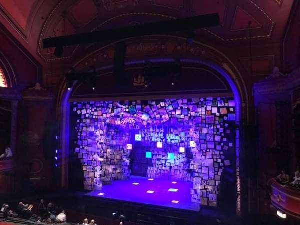 Mayflower Theatre, secção: Dress Circle, fila: B, lugar: 11