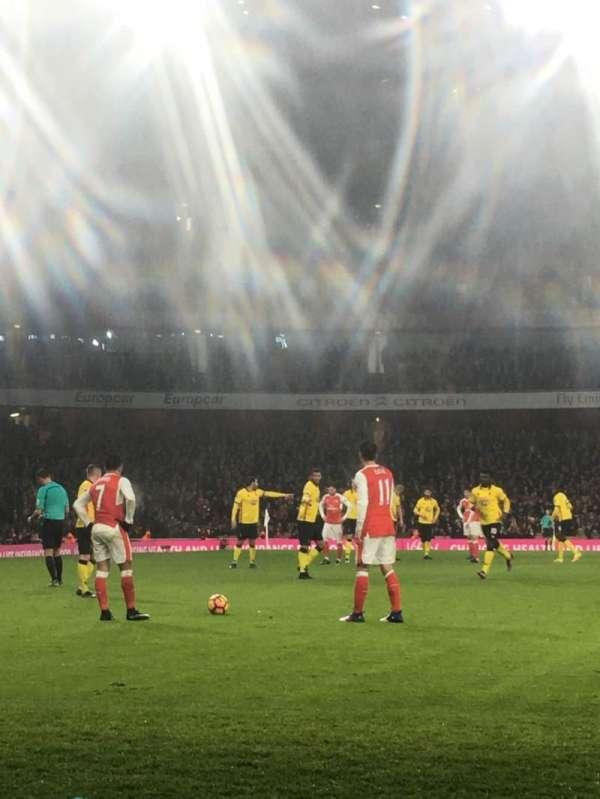 Emirates Stadium, secção: 2, fila: 2, lugar: 56