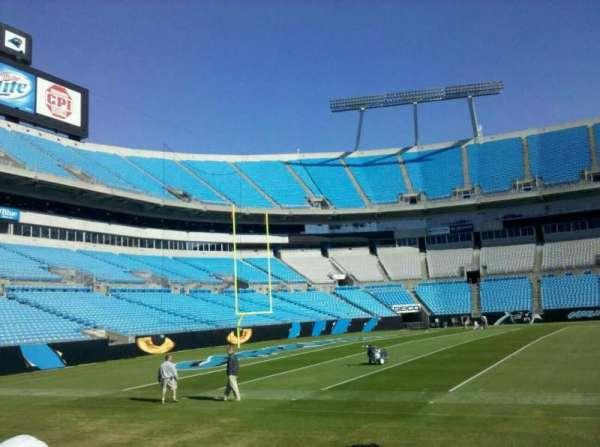 Bank of America Stadium, secção: Field
