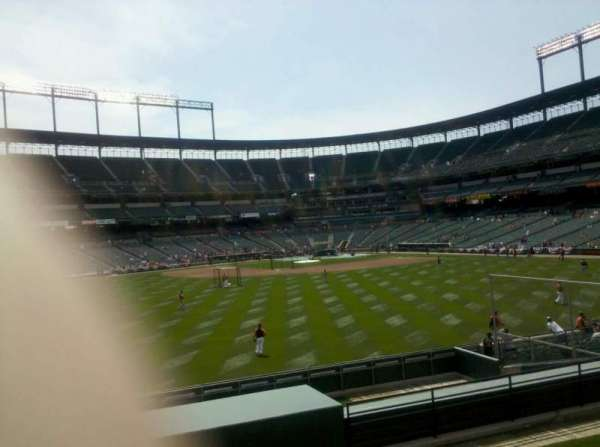 Oriole Park at Camden Yards, secção: 86