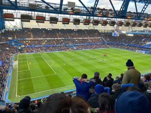 Stamford Bridge, secção: West Stand Upper 8, fila: 8, lugar: 213