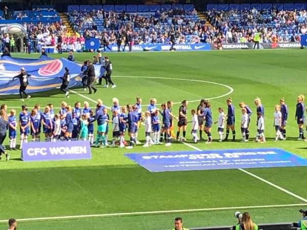 Stamford Bridge, secção: West Stand Lower 6, fila: 33, lugar: 139