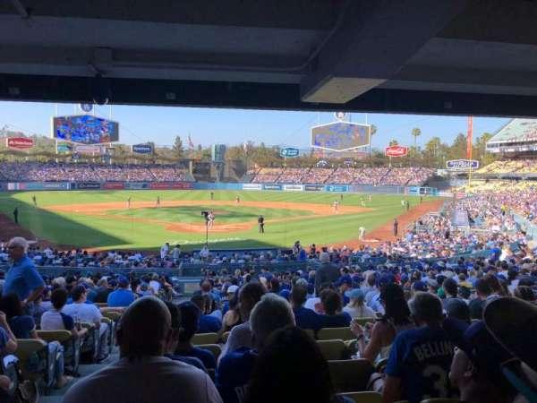 Dodger Stadium, secção: 2FD, fila: DR, lugar: 1