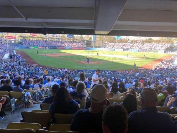 Dodger Stadium, secção: 2DL, fila: DR, lugar: 1