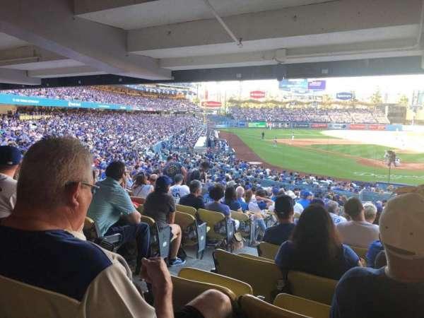 Dodger Stadium, secção: 2DL, fila: DR, lugar: 2