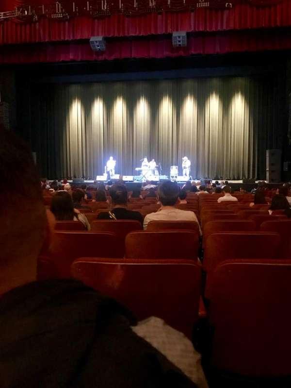 Chicago Theatre, secção: MNFLR4R, fila: D, lugar: 412