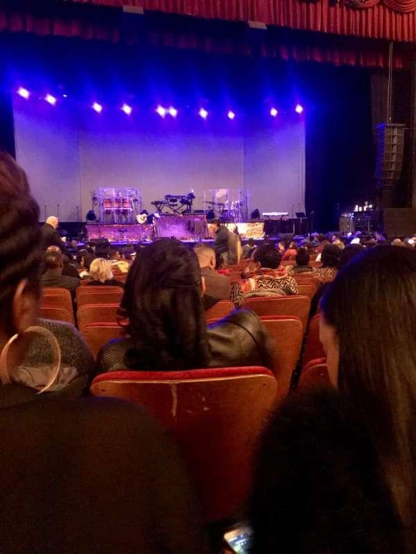 Chicago Theatre, secção: Mnfl4L, fila: C, lugar: 417