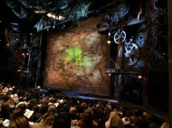 Gershwin Theatre, secção: Orchestra R, fila: J, lugar: 28-30