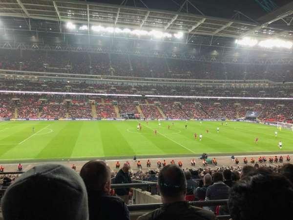 Wembley Stadium, secção: 124, fila: 40, lugar: 41