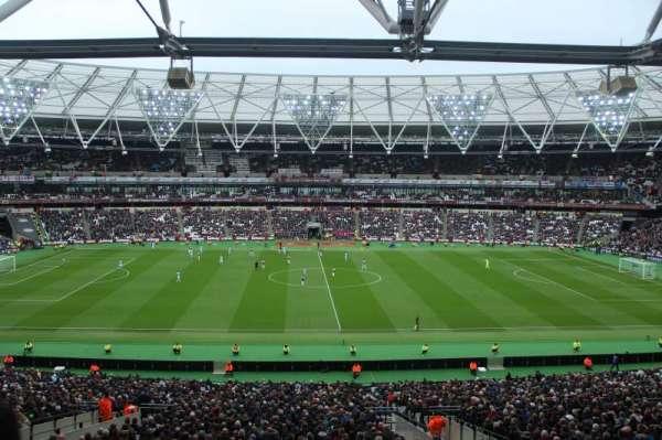 London Stadium, secção: 236, fila: 49, lugar: 443