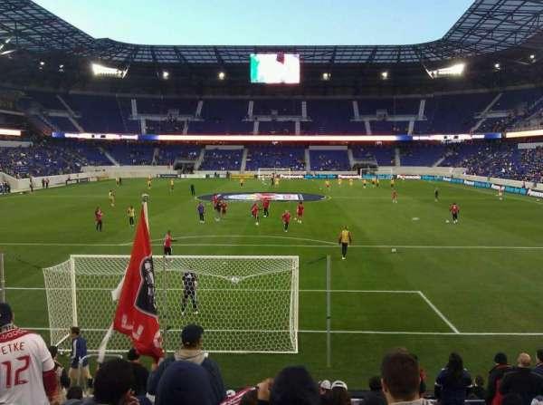 Red Bull Arena (New Jersey), secção: 101, fila: 11, lugar: 8