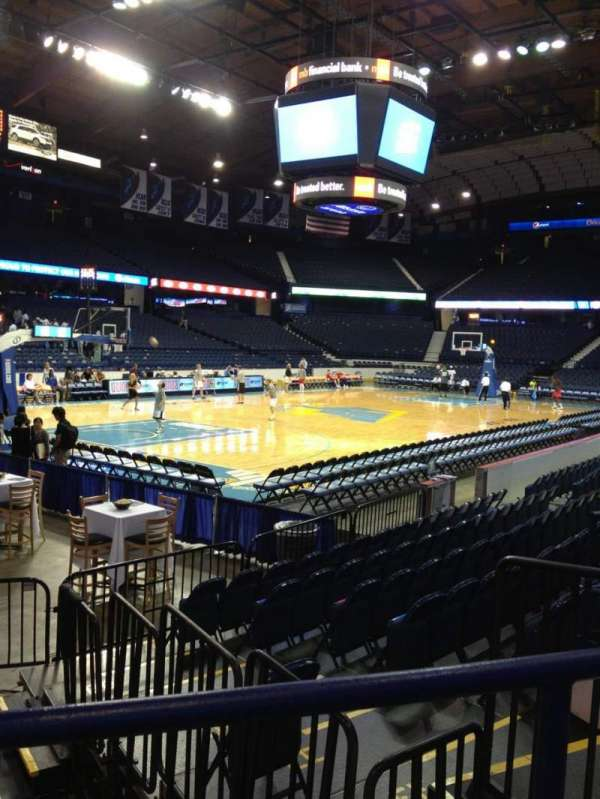 Allstate Arena, secção: 105, fila: E, lugar: 5