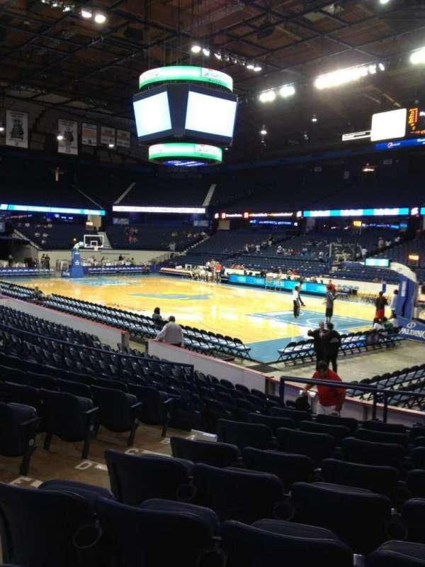 Allstate Arena, secção: 116, fila: J, lugar: 22