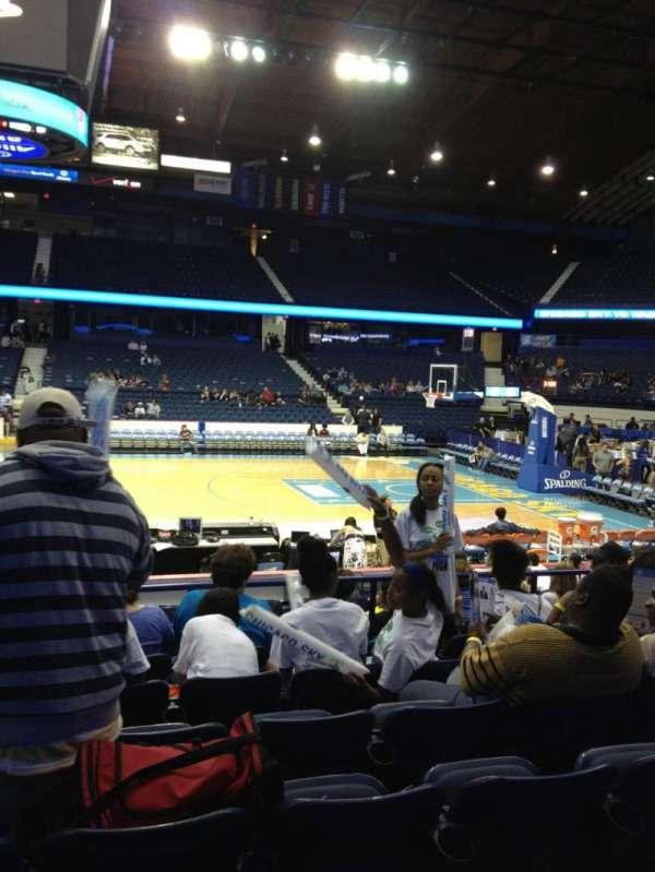 Allstate Arena, secção: 110, fila: G, lugar: 26